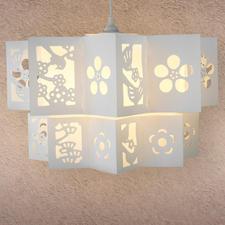 Lampe Vögel oder Panda Originelle Lampen selbst gemacht.