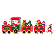 """Weihnachtliche Fensterbilder """"Weihnachts-Express"""" Weihnachtliche Fensterbilder aus Tonpapier – als Komplettset viel preisgünstiger als Einzelmaterialien"""