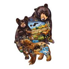 """Puzzle """"Bärenfamilie"""" Ein Spaß für die ganze Familie – spannend und entspannend zugleich."""
