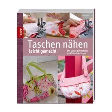 """Buch """"Taschen nähen leicht gemacht""""."""