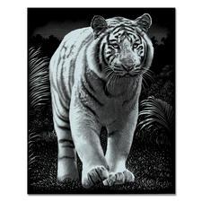 """Scraper Kratzbild """"Tiger"""" Scraper – Feine Motive in edlem Metallglanz."""