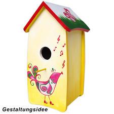 Schiefes Vogelhaus