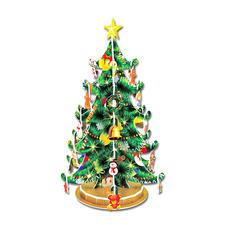 "3D-Bauwerk ""Weihnachtsbaum"" 3D-Bauwerke"