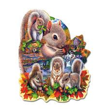 """Puzzle """"Eichhörnchen"""" Puzzeln - Ein Spaß für die ganze Familie – spannend und entspannend zugleich."""