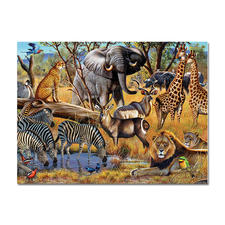 "Puzzle ""African Sunset"""