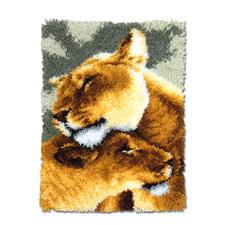 Wandbehang - Löwen