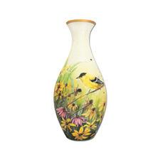 "Puzzle Vase ""Goldfinken"""