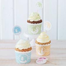 "Cupcake Backform ""Vintage Memories"" Cupcakes - süße Verführer im bunten Gewand"