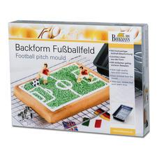 """Motivbackform """"Fußballfeld"""""""
