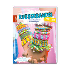 "Buch ""Rubberbands ohne Loom""."