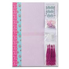 Faltpapier Romantic Rosé