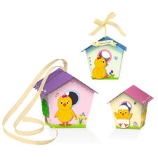 "Paper Birdhouses ""Ostern"""