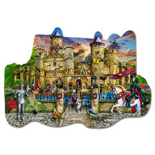 """Puzzle """"Schloss Stronghold"""" Puzzeln - Ein Spaß für die ganze Familie – spannend und entspannend zugleich"""