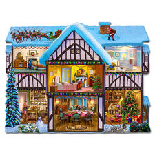 """Puzzle """"Weihnachten"""" Puzzeln - Ein Spaß für die ganze Familie – spannend und entspannend zugleich"""