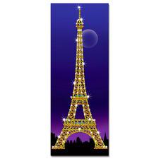 Paillettenbild - Eiffelturm Das Wahrzeichenvon Paris