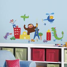 Gestaltungs-Idee Jungenzimmer