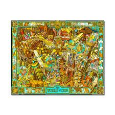 """Puzzle """"The World of Cats"""" nach Albert Lorenz Meisterwerke großer Künstler als Puzzle"""