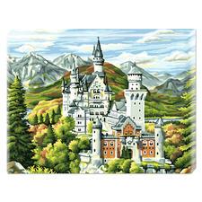 """Malen nach Zahlen """"Schloss Neuschwanstein"""" Malen nach Zahlen auf Keilrahmen"""