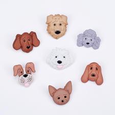 Niedliche Motivknöpfe - Hunde Tierisch gut – Alles rund um den Hund.