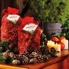 Duftzapfen-Set Stimmungsvolle Adventsdekoration mit verführerischem Weihnachtsduft.