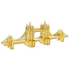 """3D-Miniaturen """"Tower Bridge"""" Hochwertige Edelstahl – Miniaturen in 3D. Jetzt auch in Gold und Silber."""