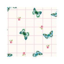 """Stoffzuschnitt """"Summer Loft"""" Schmetterling Romantisch-schöne Dessins mit leichten Farben und Mustern."""