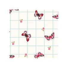 Stoffzuschnitt - Summer Loft, Schmetterling Romantisch-schöne Dessins mit leichten Farben und Mustern.
