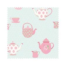 """Stoffzuschnitt """"Summer Loft"""" Teatime Romantisch-schöne Dessins mit leichten Farben und Mustern."""