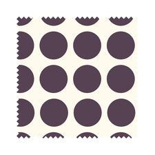 Stoffzuschnitt - Fenton House, Dots groß Traditionelle Dessins in elegant-kräftigen Farben.