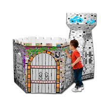 XXL-Spielhaus - Schlossturm XXL-Spielhäuser zum Bemalen und Spaßhaben.