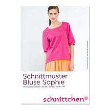 """Schnittmuster """"Bluse Sophie"""" Die genialen Schnittmuster von schnittchen®"""