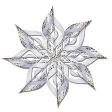 Paper Star Glänzende Weihnachten
