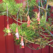 """Quilling-Set """"3D Mini-Wichtel"""" Weihnachtszeit ist Wichtelzeit"""