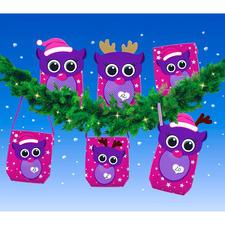 Lustige Weihnachtsfreunde aus Geschenktüten Liebevolle Adventskalender schnell gebastelt