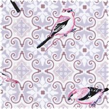 """Stoffzuschnitt """"Notting Hill"""" Birdie Matte Pudertöne lassen klassische Muster unfassbar schön wirken."""