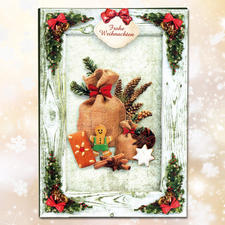 Bastelmappe Weihnachten II