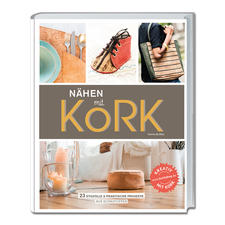 """Buch """"Nähen mit Kork""""."""