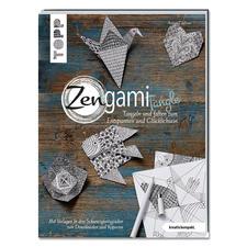 """Buch """"Zengami Tangle"""" Tangeln und falten zum Entspannen und Glücklichsein"""