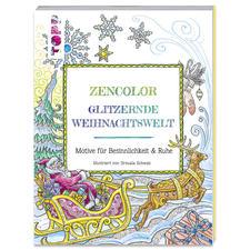 """Buch """"Glitzernde Weihnachtswelt"""" Ausmalbuch """"Glitzernde Weihnachtswelt"""""""