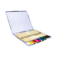 Zencolor Stiftebox mit 24 Buntstiften Die erweiterte Zencolor Stiftebox für Ausmalfans