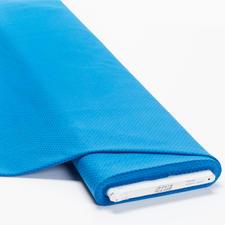 Meterware Baumwoll-Jersey - Pünktchen blau Baumwoll-Jersey – Der ideale Stoff für bequeme Shirts, Kleider und Kindermode.
