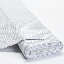 Meterware Baumwoll-Jersey - Pünktchen Weiß Baumwoll-Jersey – Der ideale Stoff für bequeme Shirts, Kleider und Kindermode.