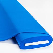 Meterware Uni-Baumwoll-Jersey - Blau Baumwoll-Jersey – Der ideale Stoff für bequeme Shirts, Kleider und Kindermode.