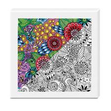 """Zen-Color™ Keilrahmen-Bild """"Blumenmeer"""" Zen-Color™ - Die Art des Entspannens."""