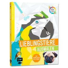 """Buch """"Tierisch Geometrisch – Lieblingstiere ausmalen"""""""