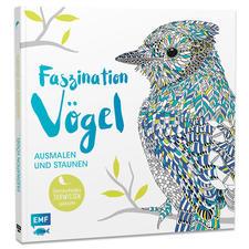 """Buch - Faszination Vögel Ausmalbuch """"Faszination Vögel"""" – Ausmalen und Staunen."""