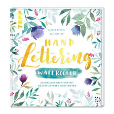 "Buch ""Handlettering Watercolor"""