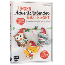 Unser Adventskalender Bastel-Set