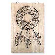 String Art - Traumfänger String Art: Stylische Fadenkunst für Ihr Zuhause.