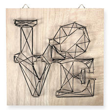 String Art - Love String Art: Stylische Fadenkunst für Ihr Zuhause.